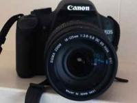 CANON EOS REBEL T1i ($645)with upgraded SIGMA 18-125