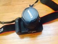 GENTLY AND RARELY USED CAMERA, LIKE NEW CONDITION. NO