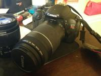 In perfect condition. Canon EOS Digital SLR camera.