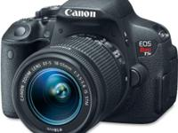 Canon EOS Rebel T5i DSLR Camera 18-55mm IS STM lens