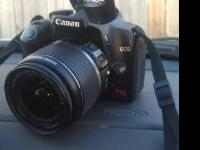 Looking to sell my Canon EOS Rebel XS with 18-55 mm