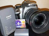 I have a nice Canon EOS Digital Rebel XT that has been