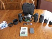 Canon EOS Rebel XT Digital Camera body (8 megapixel).