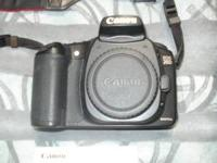Canon eos20d digital camera. Professional use. I am a
