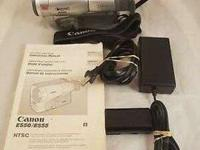 Canon es movie camera extra battery and tapes excellent