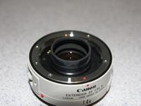 Up for sale is my Canon Extender 1.4X II. In almost