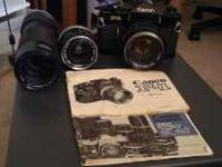 Very nice vintage Canon F1 mechanical camera. Comes