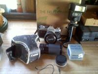 canon ftb 35mm slr 75mm-150mm zoom lens 50mm lens and