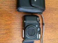 Canon PowerShot G11 in excellent condition with case,