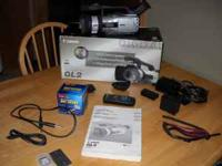 Hardly used Canon GL2 camera. Like new condition, just