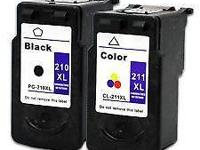 Wanted: Canon ink cartridges full or empty, # 210 &