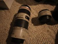 Great condition Canon L 70-200 F4 IS.  Works great.