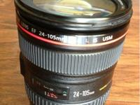 I have a Canon lens 24-105 F4 in excellent conditions