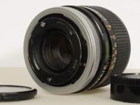 Canon Lens ~ FD ~ 100mm ~ 1:28 ~ Front & Rear Caps. The