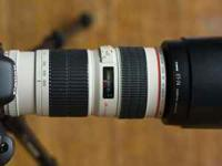 Canon Lenses for Rent EF, EFS call  for details ask for