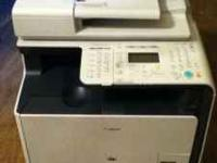Like new Canon Multifunction Laser Printer, one month
