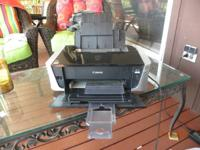 -Canon PIXMA iP3500 photo printer prints easily from