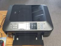 Used, in very good shape, needs new ink cartridges.
