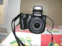 Canon  PowerShot SX400 IS 16.0 MP Digital Camera -