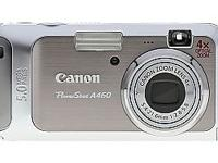 Canon Powershot A460 Box Content - PowerShot A460 Body,