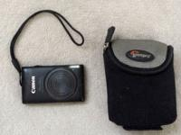 Canon PowerShot ELPH 300 HS-12.1 MP Camera+Case Canon