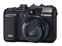 Canon Powershot G10 14.7MP Digital Camera with 5x Wide