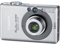 Canon Powershot SD400 5MP Digital Elph Camera with 3x