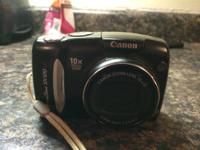 We are selling out gently utilized canon powershot