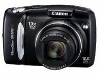 The Canon PowerShot SX120 IS is a new 10 megapixel