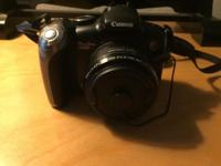 For sale is a Canon Powershot SX20 IS camera. Included