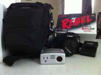 I am selling my Canon Rebel camera. Bought it for a