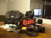 Canon Rebel T2i purchased in September of 2011. Used