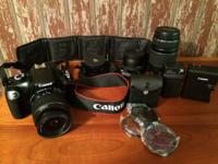 Canon Rebel T3 $800 OBO. EOS DSLR. This is a GREAT