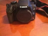 Offering Canon Rebel XS. Hasn't been made use of in a