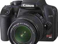 Mint condition Canon Rebel XS. One of Canon's best