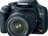 I have a canon rebel xsi digital photography camera.