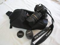 Canon Rebel XTI, otherwise known as the 400D, with