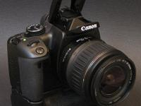 I'm selling a great beginner's dslr kit! This was my