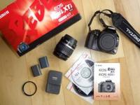 Canon Rebel XTi 10.1mp. Excellent condition. Includes
