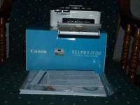 Compact photo printer-like new. Only used twice. $45
