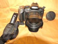 Canon SX10IS digital camera. Excellent cond. Takes