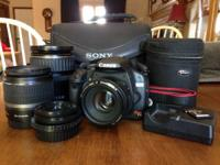 , and the sony camera bag. This is an amazing camera