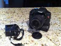 I have a Canon T2i up for sale. It is in wonderful