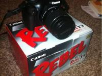 I'm selling my canon t3 body and 18-55 mm lens. It's a