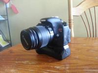 Hi, I have a Canon t3i in great condition, barely used!