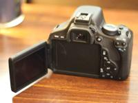 This is a T3i body (no lenses) with strap, USB cable,