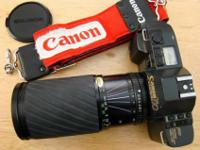 I have a CANON T70 35mm SLR Camera & FD 60-300mm Zoom