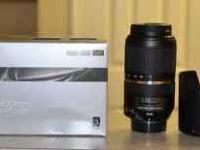 Tamron 70-300mm VC DiII Canon mount New Condition $350