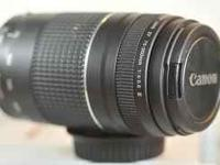 I have a canon 75-300mm telephoto lens for newer film