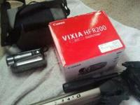 CANON 1080 HD video camera. Still in the box. Used once